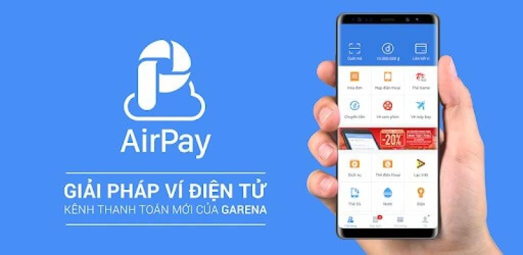 Airpay thường xuyên có những ưu đãi bất ngờ cho người sử dụng